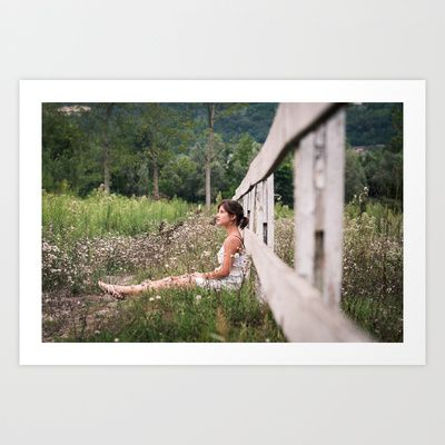 vintage dreaming Art Print by RDPhotography - $16.00