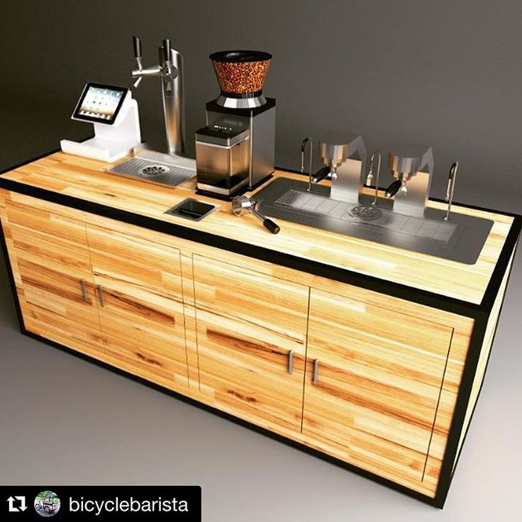 Some of our customers have great concepts utilizing the MAVAM under counter espresso machines! This rendering is from…