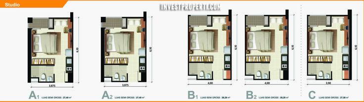 Ara Complex Apartment Studio Type