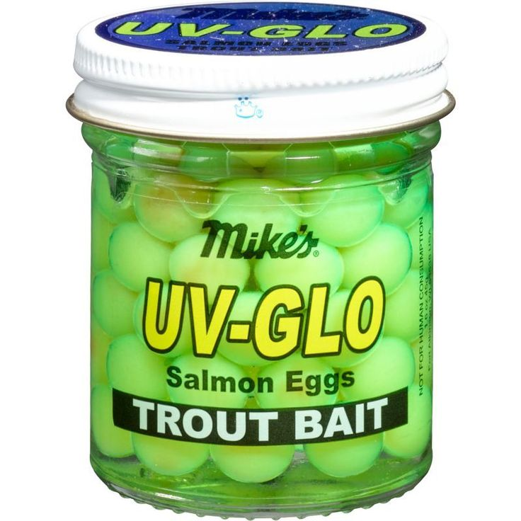 Mike's UV-Glo Salmon Eggs Trout Bait, Green