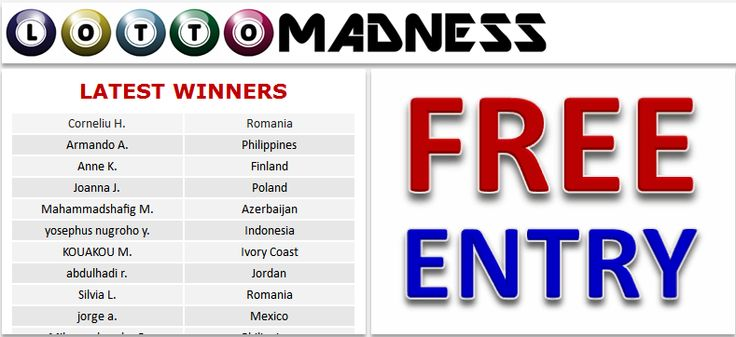 """Play international Lotteries for FREE and WIN up to US$10,000,000 (Ten Million US Dollars) 12 times per week. """"We play - You win"""" the biggest lotteries in the world. We pay out 100% of the prizes to our members. We even show you the tickets and numbers. REGISTER FOR FREE now and you could be our next lucky lottery winner!"""