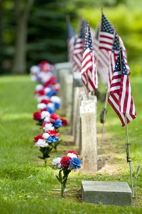 Memorial Day...never forget the fallen.