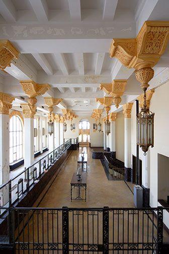 southside tower st louis wedding venue vaulted ceilings original