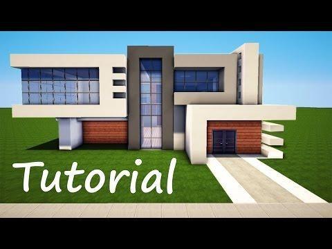 Mais de 1000 ideias sobre casas minecraft no pinterest for Modern house designs mc