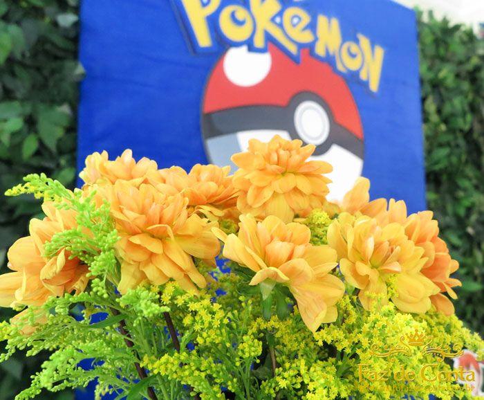 Flores pokemon