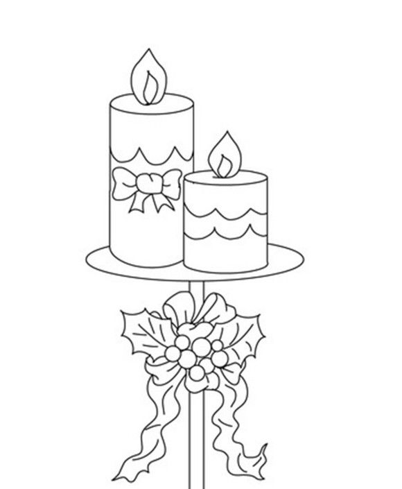 87 best Coloring: Candles & Other Illumination images on