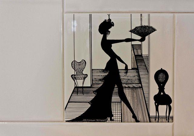 Woman in Ceramic   Ceramica Bardelli #mdw14 #ceramica #design