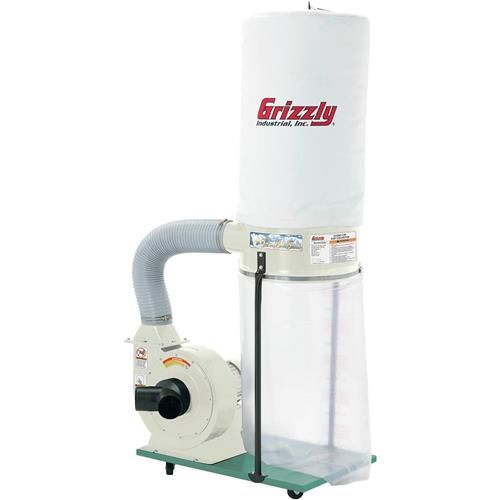 Shop our G1029Z2P - 2 HP Dust Collector with Aluminum Impeller - Polar Bear Series at Grizzly.com