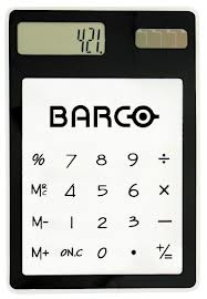 """Large Branded Calculators are the """"in"""" thing in offices these days. You'll surely never lose this big. More at http://www.budgetpromotion.com.au/promotional-merchandise/promotional-calculators/  #PrintedCalculators  #Imprinted"""