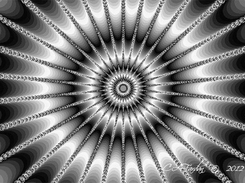 Fractal Art Digital Photo Print Sparkle Abstract by TerraTreasures