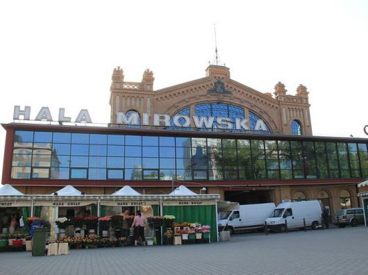 HALA MIROWSKA - one of the best markets in Warsaw. What is the better way to get to know the city then checking out it's market place?