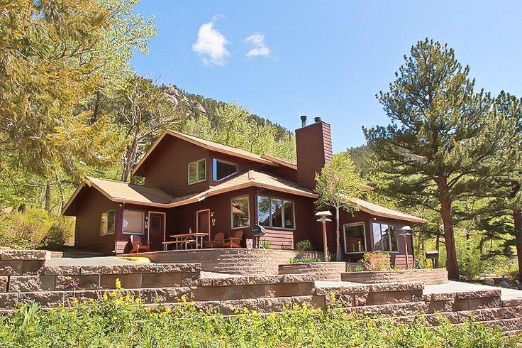 Estes park mcgregor mountain lodge cabins colorado get for Estes park lodging cabins
