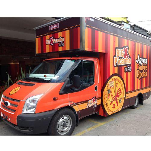 #NoVarejoPeloMundo  O @bigxpicanha está seguindo a moda dos food trucks e investiu R$ 1,5 milhão para criar modelo de franquia sobre rodas. A primeira unidade foi lançada nesta semana em SP.   #NoVarejo #FoodTruck