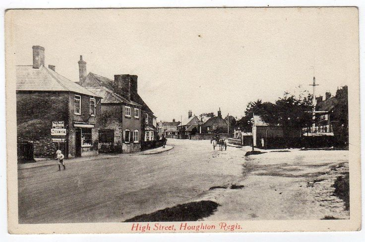 High Street. Bedford Rd on right.