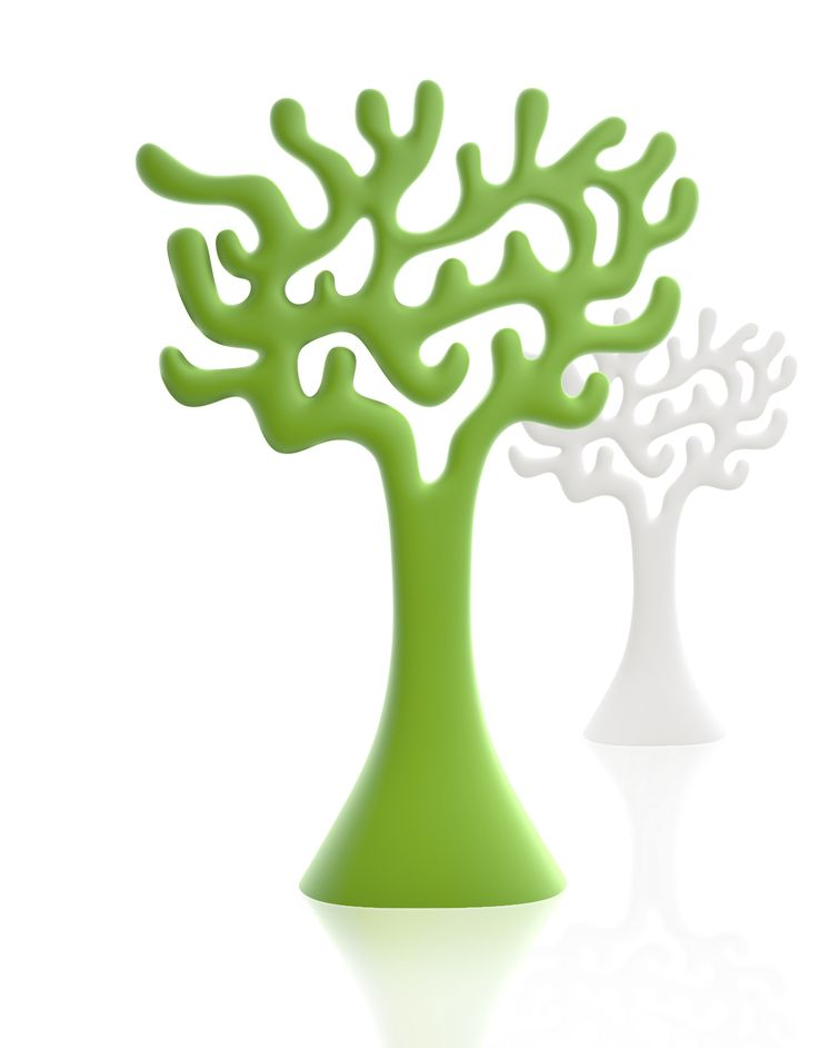 The Tree can be used singly or in groups as a space divider and visual element. The Tree is available in three colours.