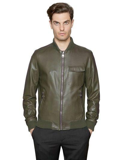 Nappa Leather Bomber Jacket | Leather Bomber Jackets Bomber