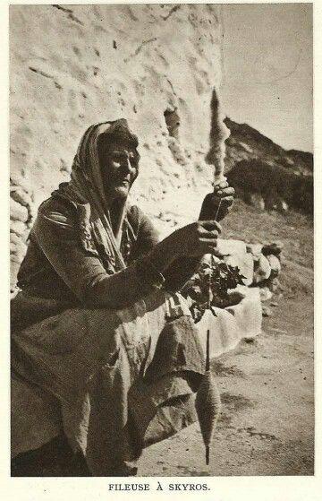 Skyros island - 1920