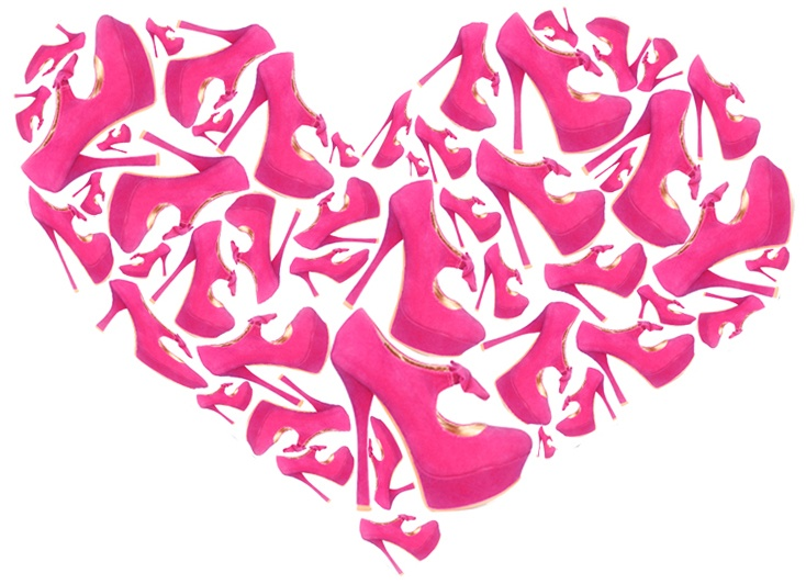 Pinkit korkokengät - Pink Heels
