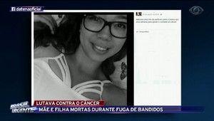 Galdinosaqua em São Paulo: Mãe e filha morrem em fuga de bandidos em Poá SP