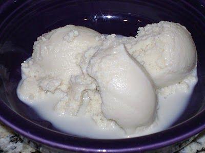 Vanilla Almond Milk Ice Cream