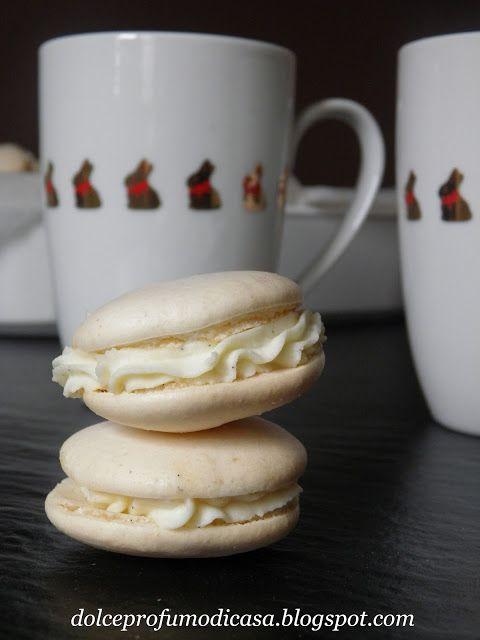 Dolce profumo di casa: Macarons pasquali alla vaniglia