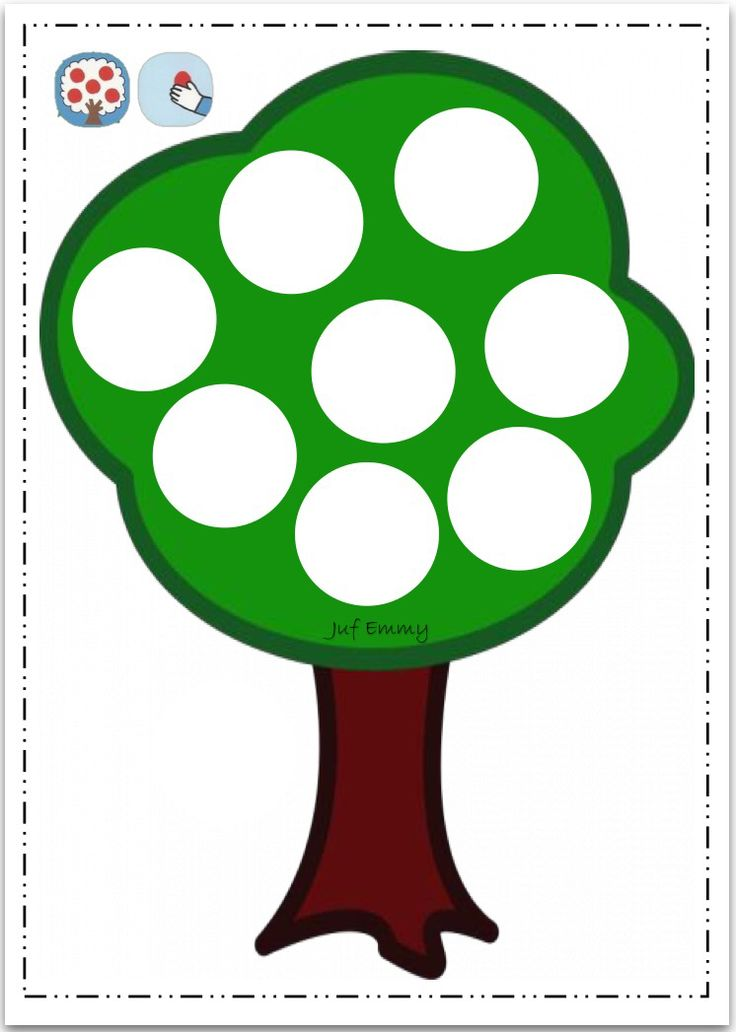 Juf Emmy Boetseerkaart de appelboom