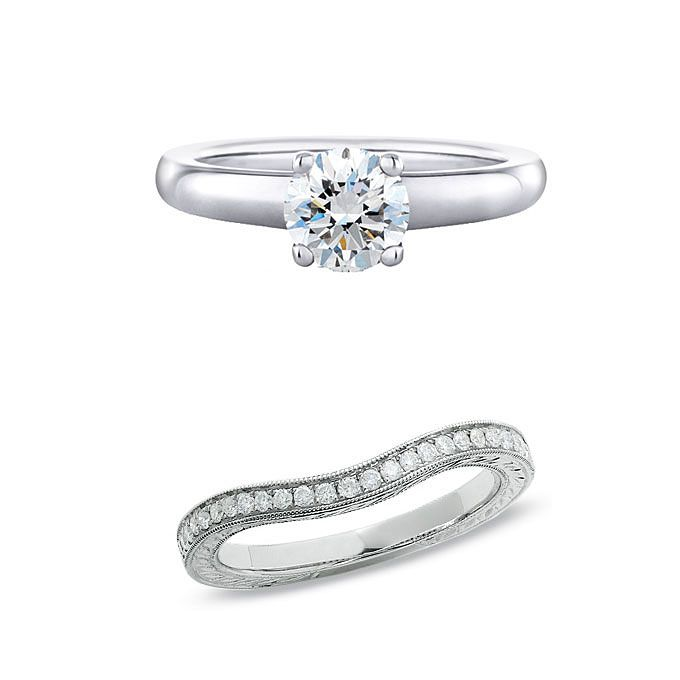 How To Pick A Wedding Band That Works With Your Engagement Ring | Wedding Dresses & Style | Brides.com | Wedding Ideas