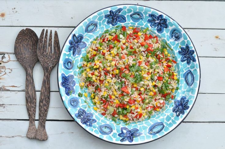 Mexican Rice Salad and a World of Awe