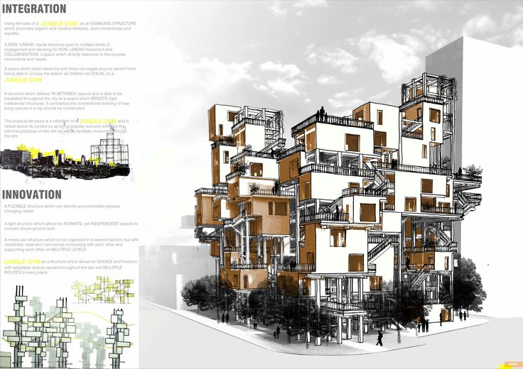 International Treehousing Competition_Winning Scheme_Jungle Gym_1