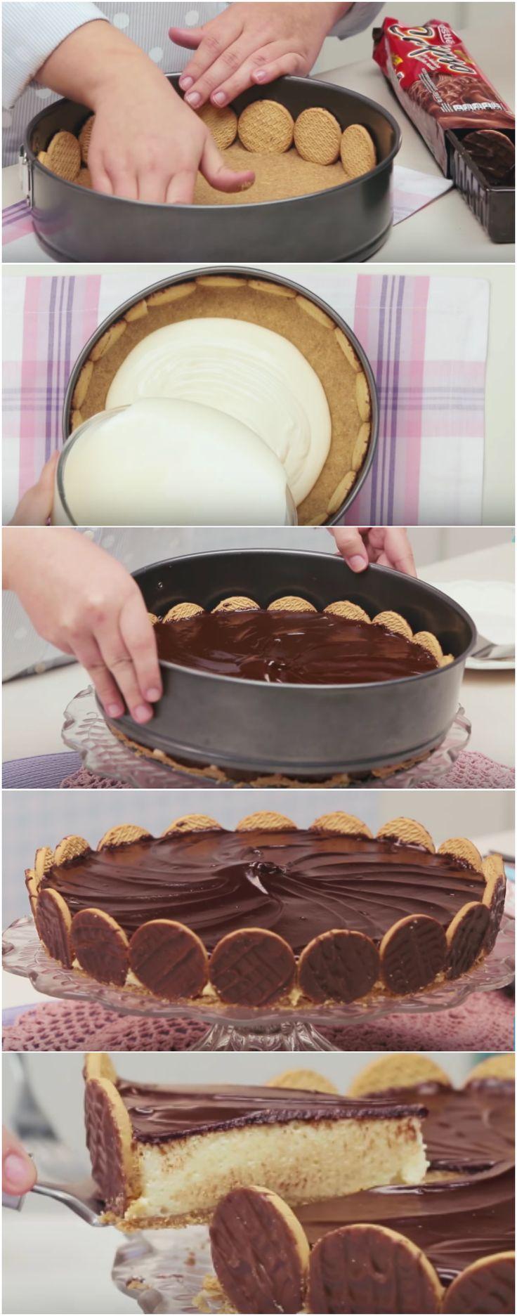 Aprenda a fazer a MELHOR E MAIS FÁCIL TORTA HOLANDESA do mundo! #torta #tortaholandesa #sobremesa