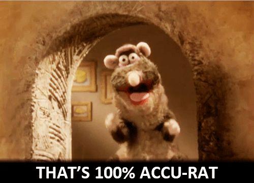100% accu-rat | (Over)Reacting | Horrible histories, Rats ...