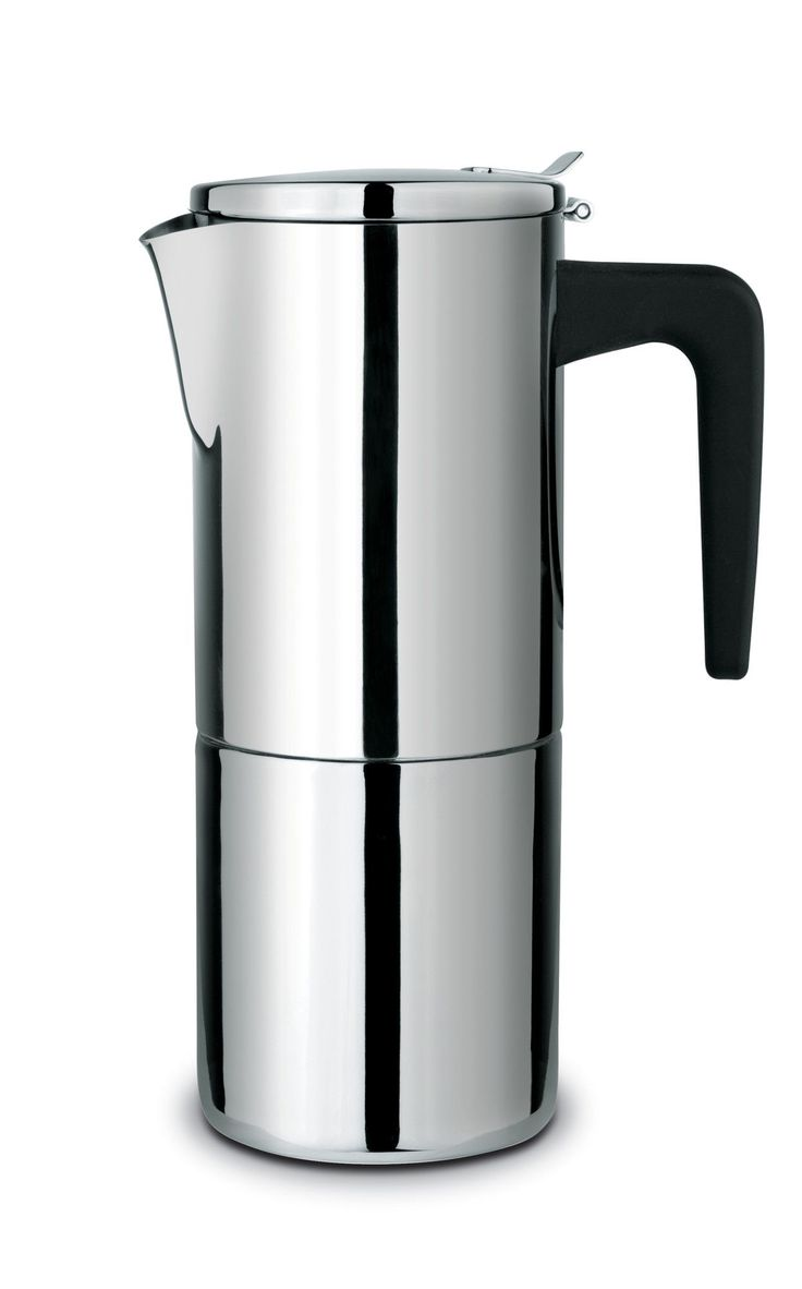 Stainless steel stovetop espresso maker 10 cup - Features Espresso Maker Material 18 10 Stainless Steel