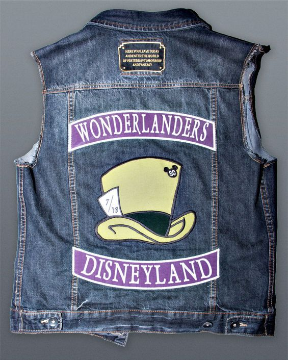 Mad Hatter' bikers wearing this, Watch out folks!
