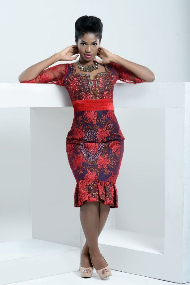 NIGERIA BASED FASHION BRAND TRISH O.COUTURE PRESENTS �RED ROMANCE� JUST IN TIME FOR VALENTINE