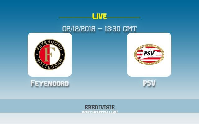 Feyenoord V Psv Preview How To Watch Tv Live Stream Info Feyenoord Vs Psv Live Stream Eredivisie Football 2018 What Tv Channel Live Matches Live