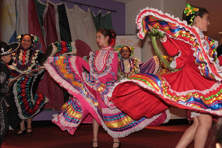 Joyas Mestizas, a local Seattle dance group, performing at the 2014 Dance Around the World in April
