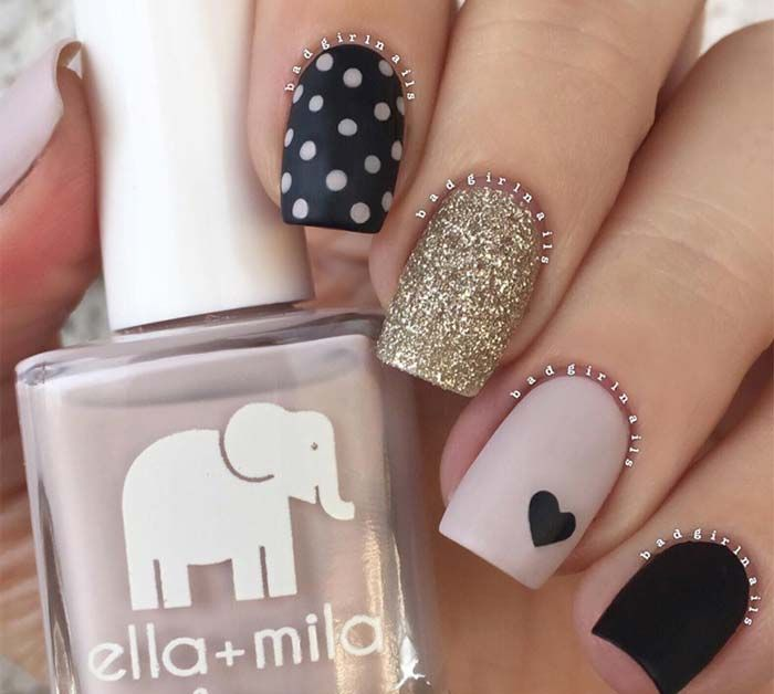 29 best 2016 Winter Nails images on Pinterest   Nail arts, 2016 ...