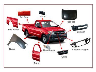 Genuine Toyota, Nissan, Mitsubishi and Honda auto spare parts