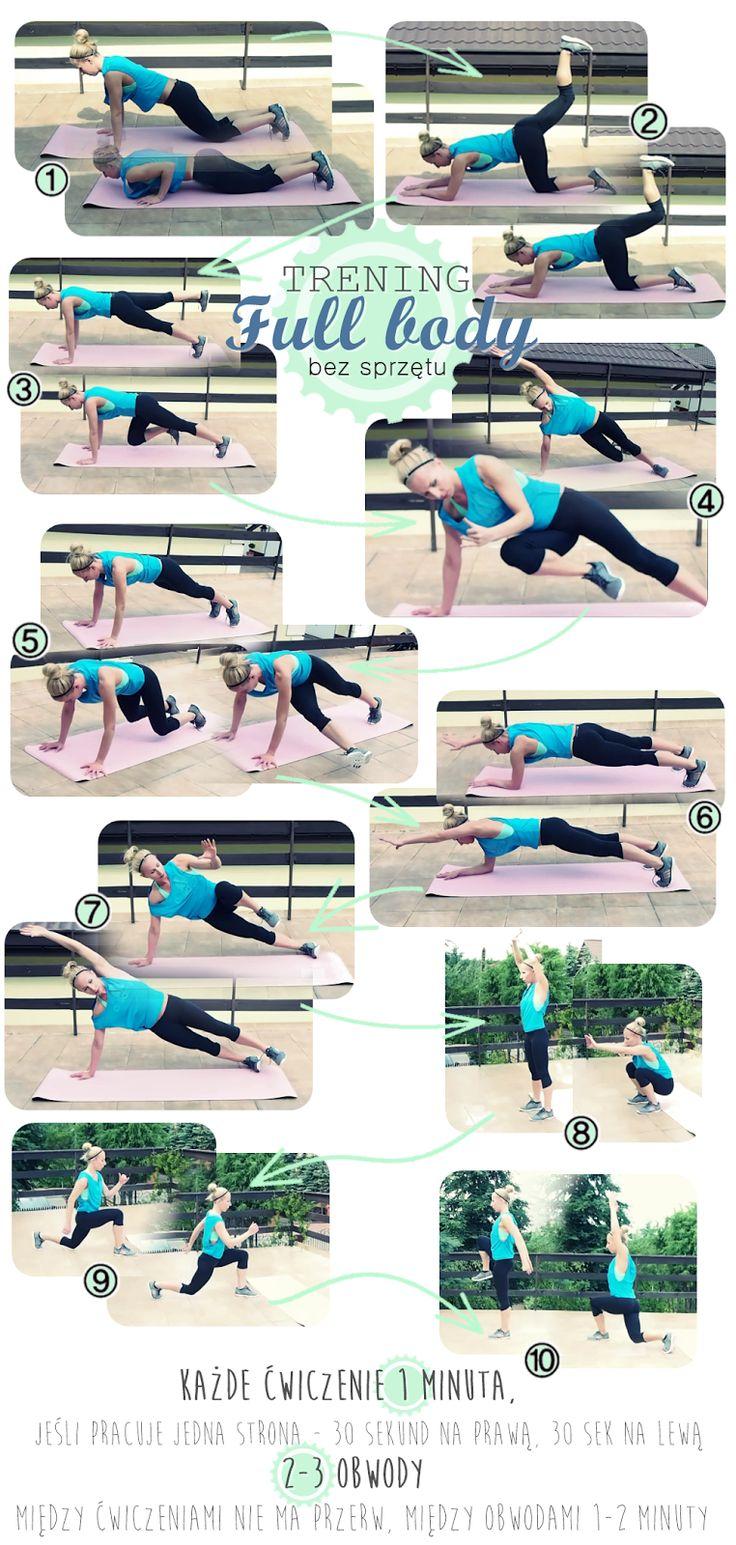 Trening full body bez sprzętu