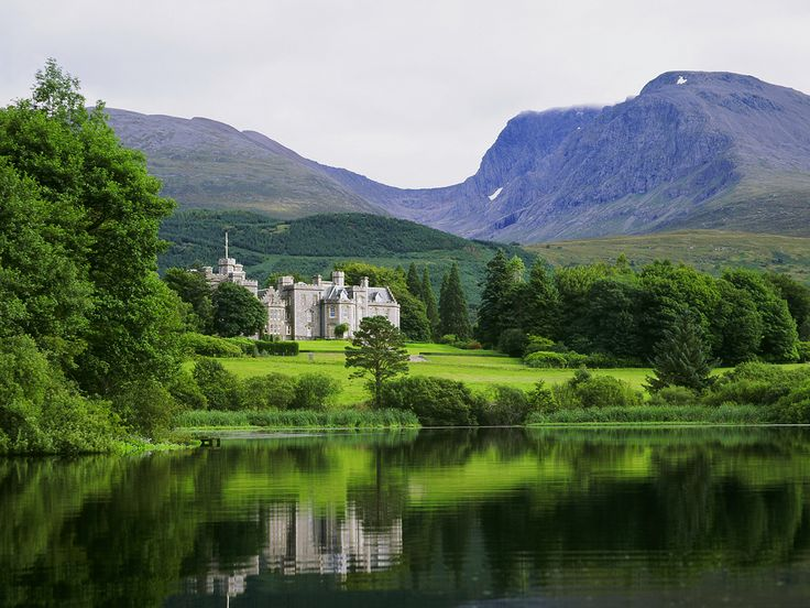 Spend a night at picturesque Inverlochy Castle, one of the most luxurious hotels in Europe. It has 17 private rooms with views of the grounds and surrounding Grampian Mountains.