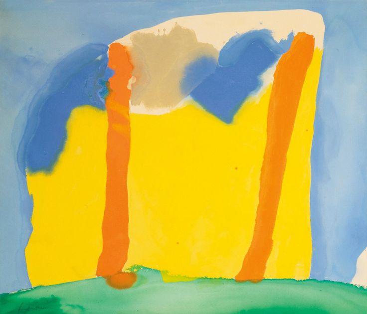"""mauveflwrs: """" Helen Frankenthaler - Spices (1968) """""""