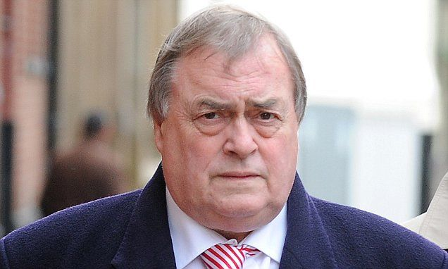 John Prescott is banned from driving
