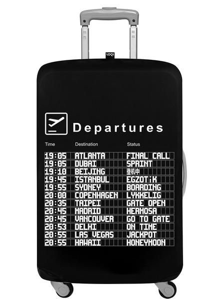 airport arrivals luggage cover