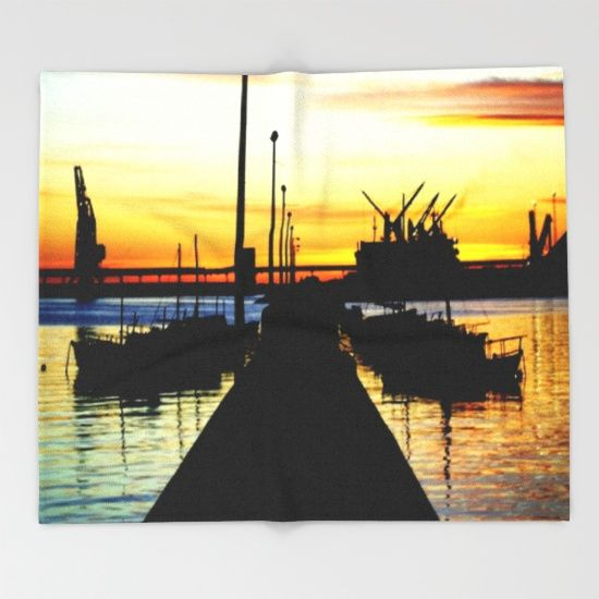 Harbour, Sunrise, Silhouettes, Ships, Moorings, Sky, Reflections, Seascape, Australia. Read More