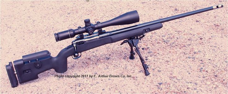 Choate tactical custom savage stock bedded free floated
