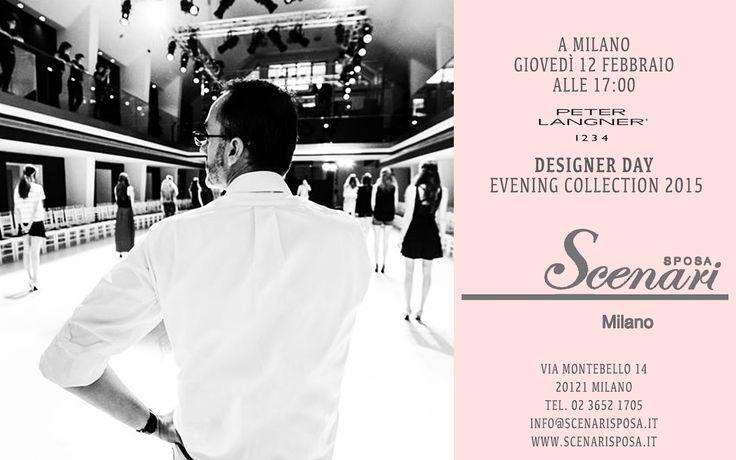 DESIGNER DAY BRIDAL COLLECTION IN ITALY! February 12, 2015 at Scenari Sposa Via Montebello 14, Milan Italy. Phone: +39 02 36521705 - http://www.scenarisposa.it/en/