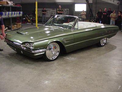 "'65 Thunderbird. Chip Foose custom T-bird. TV show ""Overhaulin"""