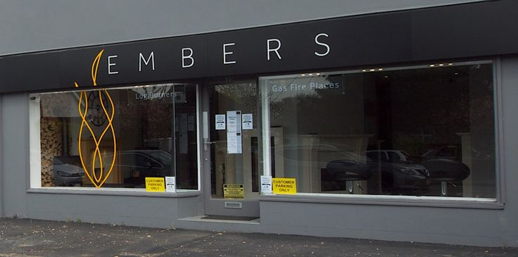 Embers Fireplace showroom in Frimley Green, near Camberley, Surrey