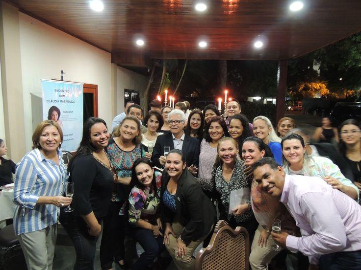 Encontro de cerimonialistas em Roraima. Workshop de Cerimonial e Eventos em Boa Vista. Claudia Matarazzo, Mario Ameni e Manuel Veras, Teresa Roriz.