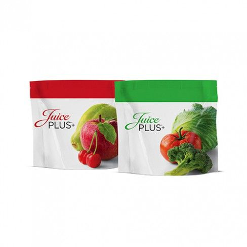 DETAILS A choice of delicious flavours The healthful Juice PLUS+ Powder made from 18 kinds of fruit, vegetables and berries in its tastiest form. Especially popular with children, Juice PLUS+ Soft chews are a very healthy addition to the diet of young people. Of course, Juice PLUS+ Soft chews are suitable, in double dosage, for adults too. Recommendations for use by children 2 fruit and 2 vegetable Soft chews per day.